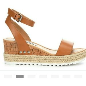 Steve Madden Jaide Leather wedges